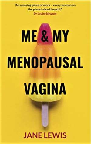 Cover of book by Jane Lewis about vaginal atrophy